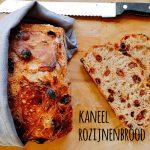 Kaneel rozijnenbrood