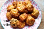 Courgette balletjes